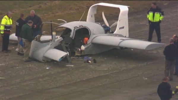 飞行汽车测试中坠毁:驾驶员为创始人 已成功试飞两次