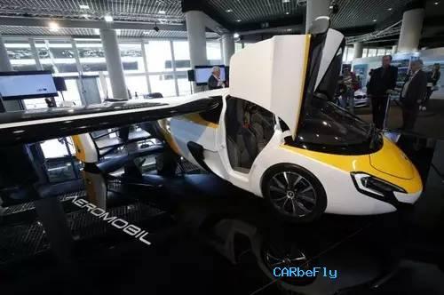 汽车飞翔将不再是梦想!AeroMobil首次在中国展出飞行汽车