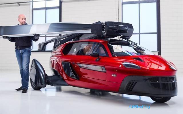 全球首款飞行汽车诞生!能飞上天,又能陆地跑,今年内开始交付