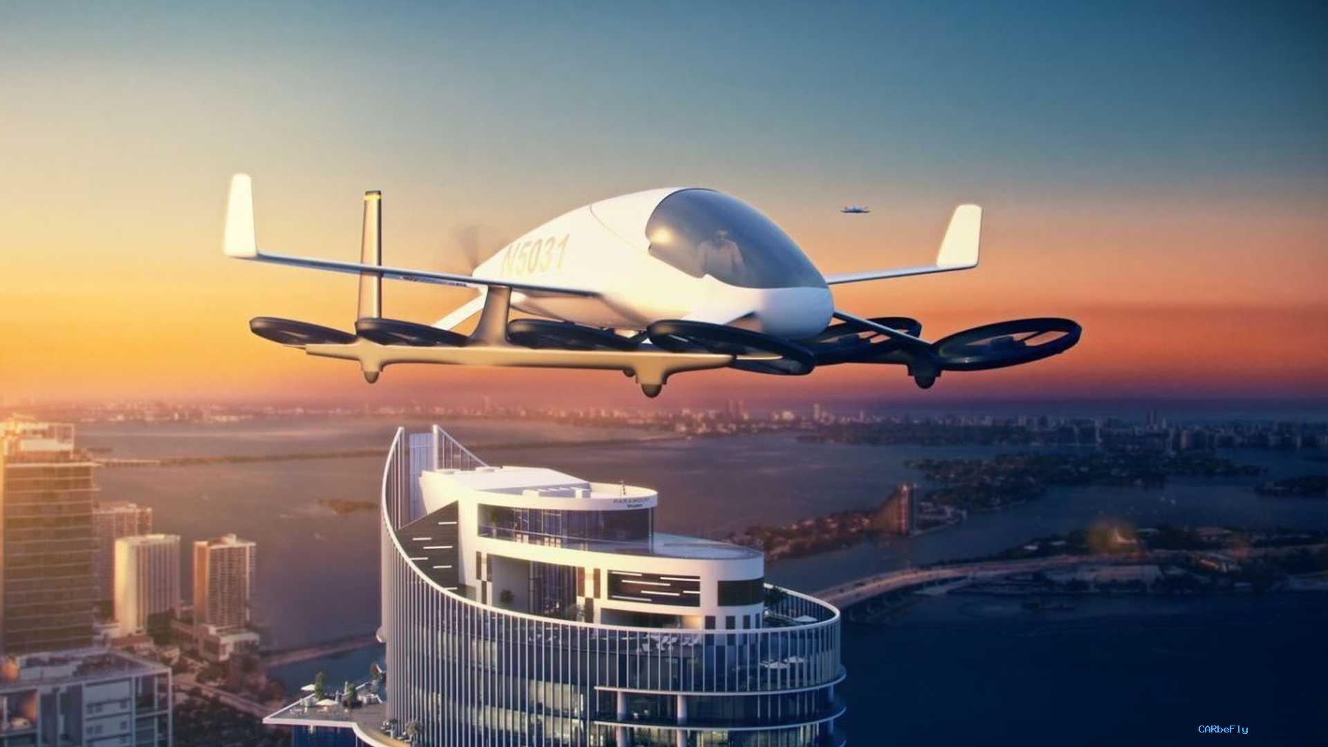 美国摩天大楼将为飞行汽车提供空中甲板,迎接未来主义!
